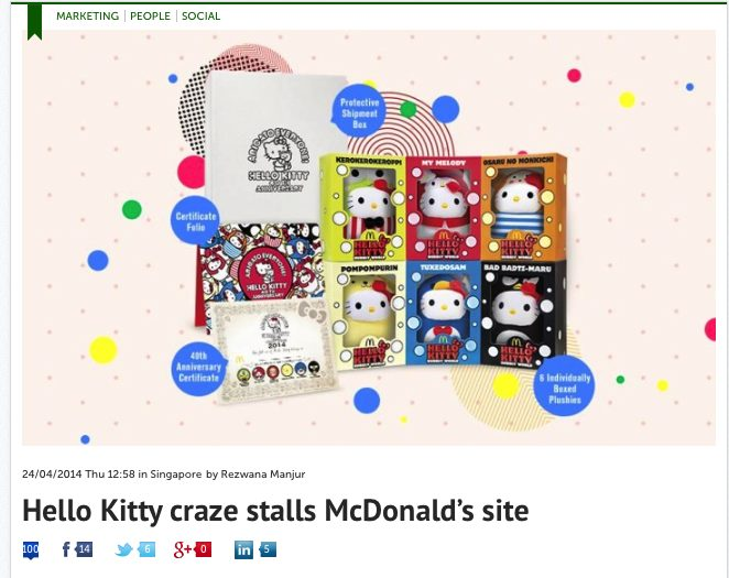 Lawrence comments on Hello Kitty Craze