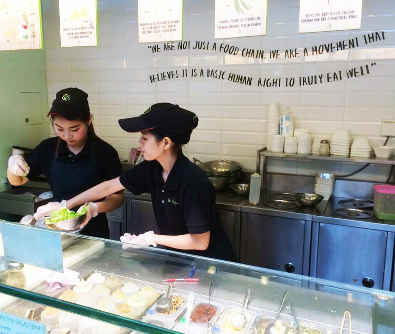Featured Signatory: SaladStop! from Singapore