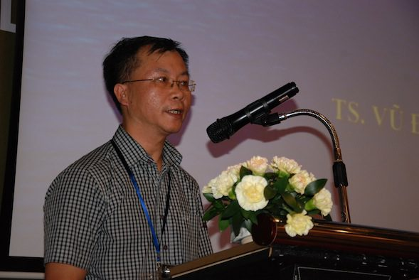 Dr. Vu Dinh Anh shared the distinct aspects of the Vietnam culture that can be leveraged upon to showcase to the global market.