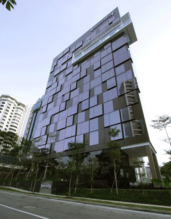 Quincy, a 108-room boutique hotel tucked away in Mount Elizabeth's residential enclave, is a trendy choice for the weary business traveller in Singapore. (ONG&ONG)