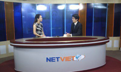 Lawrence Chong interviewed by Vietnamese news channel VTC10