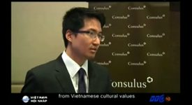Lawrence Chong encourages Vietnamese companies to go overseas – Reported by VTC10
