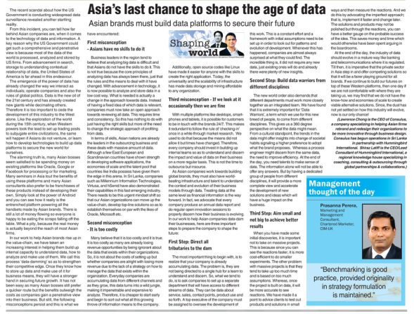 Asia's Last Chance to Shape the Age of Data