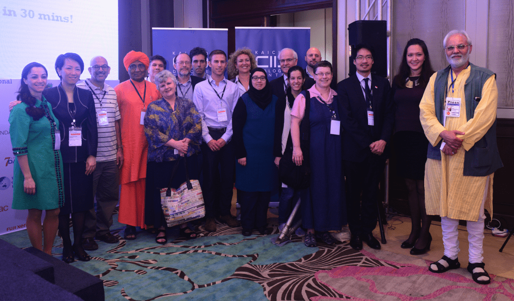 CEO of Consulus, third from right with some participants during the IPI congress