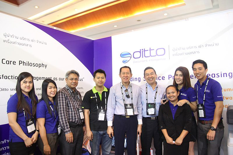 At Ditto, we work together in harmony, which allows us to communicate easily and encouraging the concept is not that difficult (Source: Ditto Thailand).