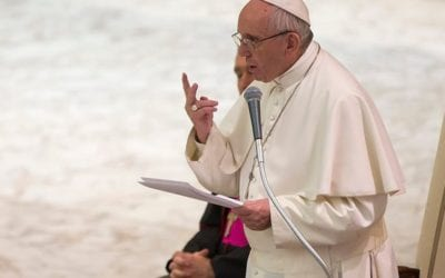 Pope Francis urged global entrepreneurs to change the rules of the socio-economic system