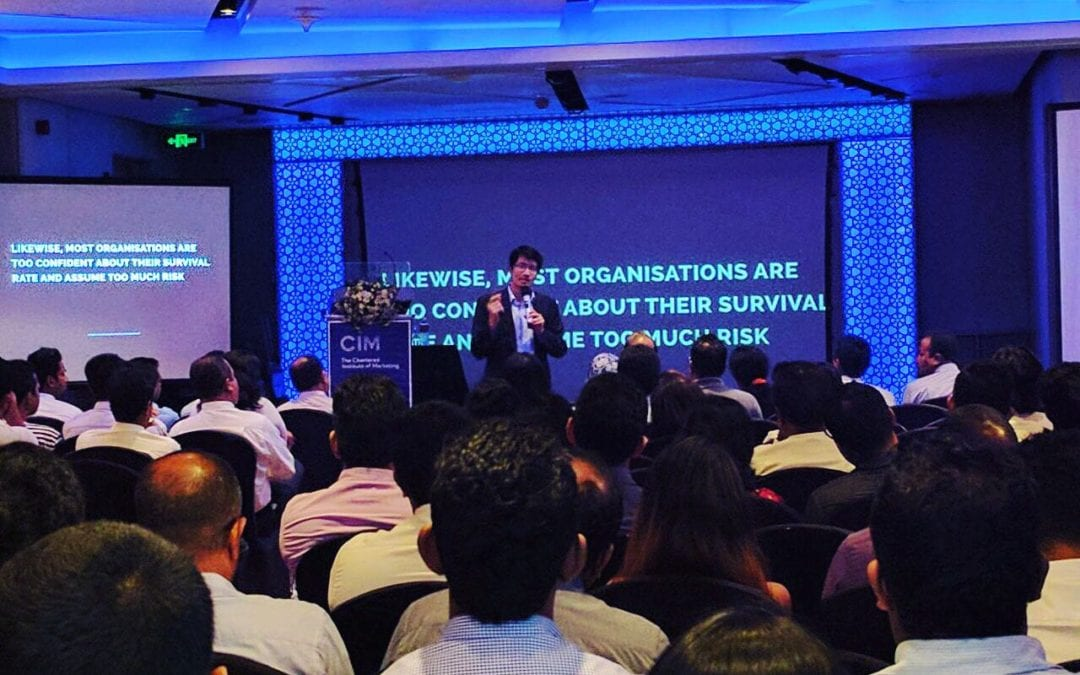 """CEO of Consulus spoke at the """"Marketing in the Age of Design and Disruption"""" in Sri Lanka"""