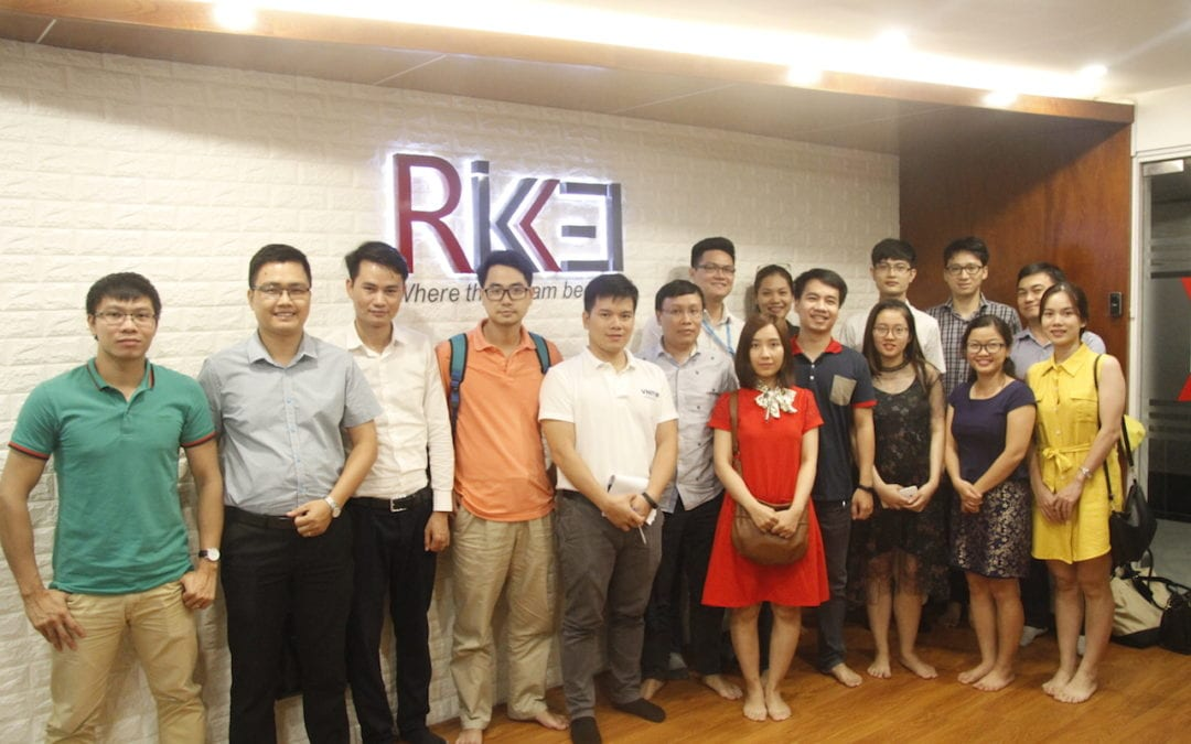 Helena Pham, Partner at Consulus Vietnam shared about 'Unity for Innovation' with VNITO Hanoi