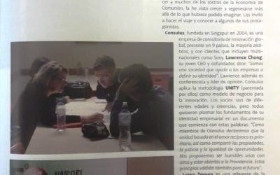 EoC: A global community of people – Consulus featured on New City Magazine (Argentina)