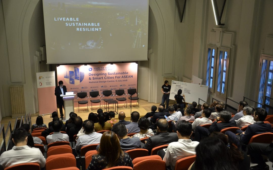 Shape the World 2018: Designing Sustainable & Smart Cities For ASEAN (6 July)